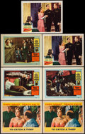 "Movie Posters:Hitchcock, To Catch a Thief & Others Lot (Paramount, 1955). Lobby Cards(7) (11"" X 14""). Hitchcock.. ... (Total: 7 Items)"