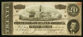 Confederate Notes:1864 Issues, T67 $20 1864 PF-33 Cr. 533.. ...
