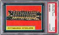 Football Cards:Singles (1960-1969), 1962 Topps Steelers Team #138 PSA Mint 9 - Pop One, None Higher....