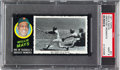 Baseball Cards:Singles (1970-Now), 1971 Topps Greatest Moments Willie Mays #41 PSA Mint 9....