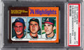 Baseball Cards:Singles (1970-Now), 1975 Topps Mini Nolan Ryan - '74 Highlights #7 PSA Gem Mint 10...