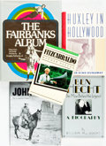 Books:Non-fiction, [Film History.] Group of Five Books Related to Hollywood Filmmakers Various publishers and dates.... (Total: 5 Items)