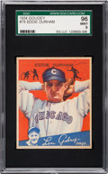 Baseball Cards:Singles (1930-1939), 1934 Goudey Eddie Durham #79 SGC 96 Mint 9 - Pop Two, NoneHigher....