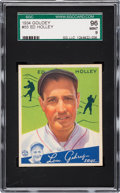 Baseball Cards:Singles (1930-1939), 1934 Goudey Ed Holley #55 SGC 96 Mint 9 - Highest Graded Example!...