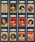 Baseball Cards:Lots, 1959 - 1961 Topps Baseball Collection (1,300+) With Stars, HoFersand High Numbers. ...
