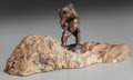 Sculpture, ALEXANDER PHIMISTER PROCTOR (American, 1862-1950). Cody Bear, 1895. Bronze with brown patina. 3-1/4 inches (8.3 cm) high...