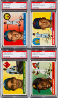 Baseball Cards:Sets, 1955 Topps Baseball Near Set (174/206). ...
