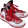 Basketball Collectibles:Others, 2014 LaMarcus Aldridge Game Worn Shoes....