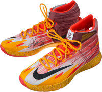 sale retailer 9b29c 5b177 2014 Kyrie Irving Game Worn, Signed Cleveland Cavaliers ...