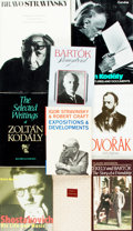 Books:Biography & Memoir, [Music/Biography.] Group of Nine Biographies about RussianComposers. Various publishers and dates.... (Total: 9 Items)