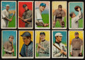 Baseball Cards:Lots, 1909-11 T206 White Border Group (10) With Two HoFers. ...