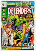 Bronze Age (1970-1979):Superhero, Marvel Feature #1 The Defenders (Marvel, 1971) Condition: VF-....