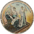 "Political:Pinback Buttons (1896-present), McKinley ""Expansion"" Button: A Stunning Multicolor 1 ½-inchRarity...."
