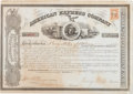 Autographs:Celebrities, Wells & Fargo: Signed Stock Certificate....