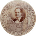 Political:Pinback Buttons (1896-present), William Jennings Bryan: A Top 1 ½-inch Rarity in SuperbCondition....