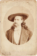 "Photography:Cabinet Photos, ""Wild Bill"" Hickok: A Rarely-offered Cabinet Photo...."