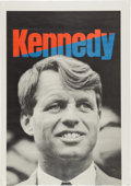 Miscellaneous:Ephemera, Scarce Large-Sized Robert F. Kennedy 1968 Presidential CampaignPoster....