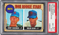 Baseball Cards:Singles (1960-1969), 1968 Topps Nolan Ryan - Mets Rookie Stars #177 PSA NM-MT+ 8.5....