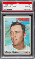 Baseball Cards:Singles (1970-Now), 1970 Topps Graig Nettles #491 PSA Gem Mint 10. ...
