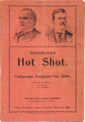 Political:Small Paper (1896-present), McKinley & Roosevelt: Jugate Campaign Songster....