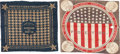 Political:Textile Display (pre-1896), Benjamin Harrison: Pair of Bandannas.... (Total: 2 Items)