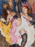 Paintings, FRIED PAL (Hungarian/American, 1893-1976). Night Club Dancer. Oil on board. 24.75 x 18.5 in. (sight). Signed lower left...
