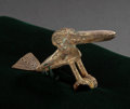 Pre-Columbian:Metal/Gold, A SINU TUMBAGA WATERBIRD ORNAMENT ...