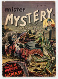 Golden Age (1938-1955):Horror, Mister Mystery #1 (Aragon, 1951) Condition: GD+....