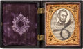 Political:Presidential Relics, Abraham Lincoln: A Sought-After Actual Lock of His Hair. ...