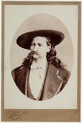"Photography:Cabinet Photos, James B. ""Wild Bill"" Hickok: A Stunning Original Cabinet Photo inVirtually Mint Condition...."