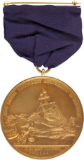 "Transportation:Nautical, Lifesaving Medal in Gold: ""Morro Castle"" Disaster Archive....(Total: 6 Items)"