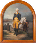Antiques:Decorative Americana, George Washington: Léon Cogniet Historical Painting. ...