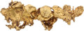 Western Expansion:Goldrush, Gold Flake Brooch....