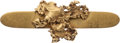 Western Expansion:Goldrush, Gold Flake/Nugget Brooch....