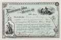 Miscellaneous:Ephemera, Tombstone Mining Company: A Beautiful 1881-dated StockCertificate....