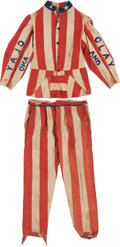 Political:3D & Other Display (pre-1896), Henry Clay: Awe-Inspiring Patriotic Parade Costume....