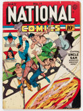 Golden Age (1938-1955):Superhero, National Comics #11 (Quality, 1941) Condition: GD/VG....