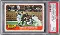 Baseball Cards:Singles (1960-1969), 1965 O-Pee-Chee World Series Game 3 - Mantle HR #134 PSA Mint 9....