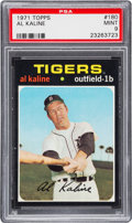 Baseball Cards:Singles (1970-Now), 1971 Topps Al Kaline #180 PSA Mint 9 - None Higher....