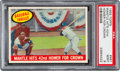 Baseball Cards:Singles (1950-1959), 1959 Topps Mickey Mantle Hits 42nd HR #461 PSA Mint 9....
