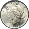 Peace Dollars, 1922-D $1 MS67 PCGS....