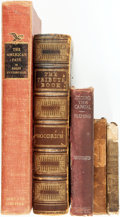 Books:Americana & American History, [Americana]. Group of Five Books. Various publisher's and dates.... (Total: 5 Items)