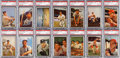 Baseball Cards:Sets, 1953 Bowman Color Mid To High Grade Near Set (149/160). ...