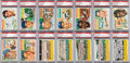 Baseball Cards:Sets, 1956 Topps Baseball Complete Set (340) Plus Ten Team Variations....