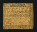 Colonial Notes:Maryland, Maryland December 7, 1775 $1/2 Fine.. ...