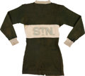 Hockey Collectibles:Uniforms, Early 1900's St. Nicholas Hockey Club Game Worn Jersey....