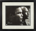 Basketball Collectibles:Photos, 2000's Michael Jordan & Muhammad Ali Signed Oversized Photograph. ...