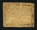 Colonial Notes:Maryland, Maryland August 14, 1776 $1 Fine-Very Fine.. ...