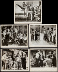 "Movie Posters:Academy Award Winners, West Side Story (United Artists, 1961). Photos (5) (approx. 8"" X 10""). Academy Award Winners.. ... (Total: 5 Items)"