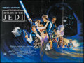 "Movie Posters:Science Fiction, Return of the Jedi (20th Century Fox, 1983). British Quad (30"" X40"") Style B. Science Fiction.. ..."
